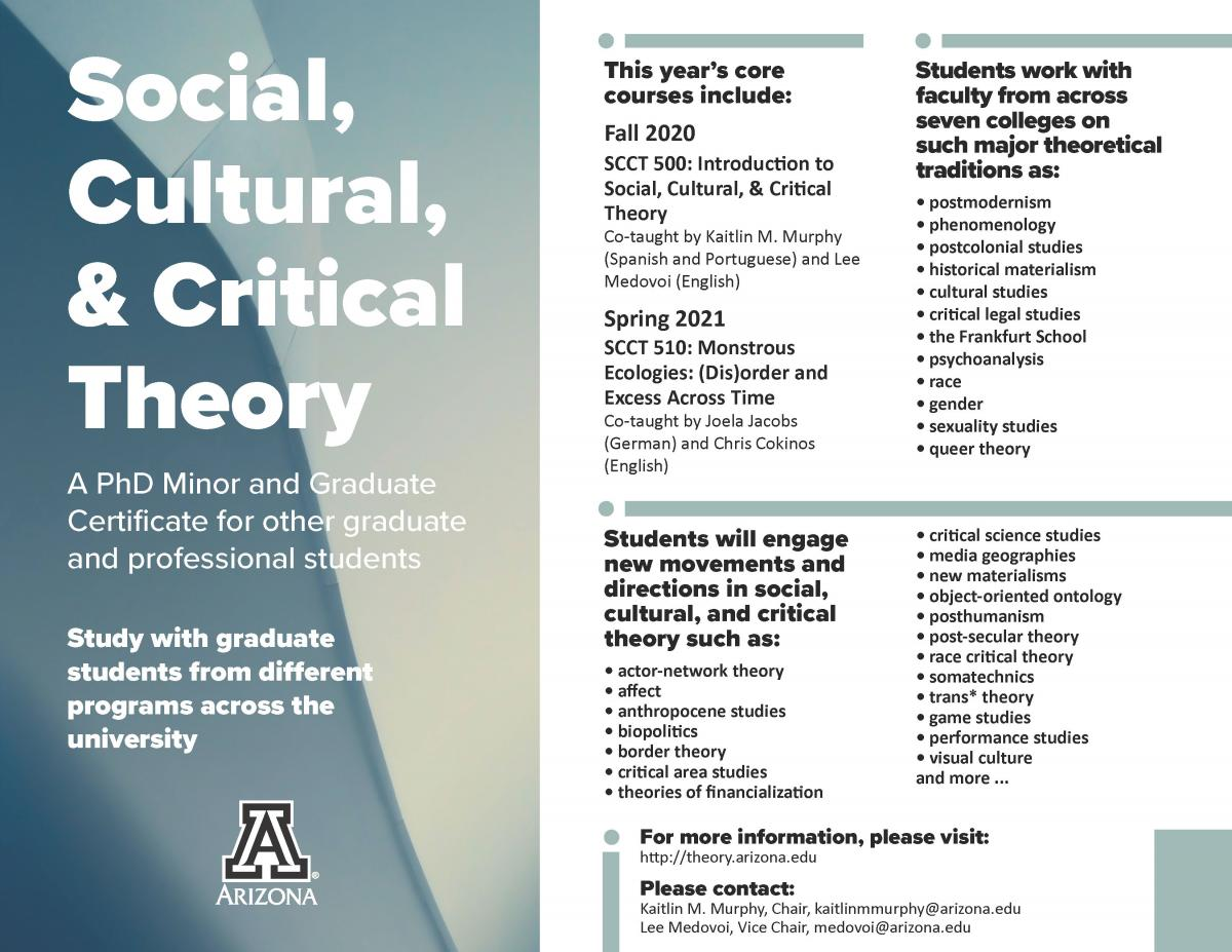 Social, Cultural, & Critical Theory